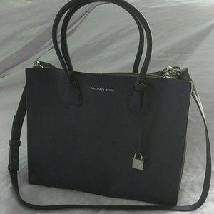 Michael Kors eggplant handbag